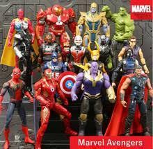 Экшн-<b>фигурки Marvel Avengers</b> 4 End, фигурка капитана Марвел ...