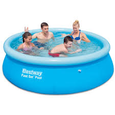 <b>Надувной</b> круглый <b>бассейн Bestway</b> 57265 (244x66) - купить по ...