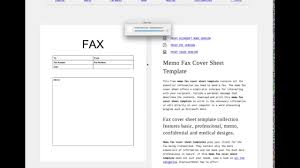 customize fax cover sheet template tutorial