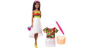 Barbie <b>Crayola</b> Rainbow Fruit Surprise <b>Strawberry</b>-Scented ...