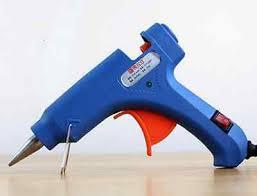 <b>New 1pc</b> 20W Mini <b>hot</b> melt glue gun +10pcs <b>Hot</b> rod <b>glass</b> silicon ...