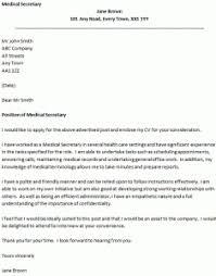 cover letter for a medical secretary icoverorguk cover letter for a secretary position