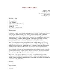 cover letter example    seangarrette co  resume cover letter samples for   time jobs    cover letter example
