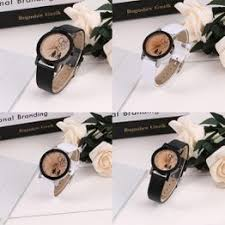 Fashion Synthetic Leather Band Quartz Pointer Analog ... - Vova