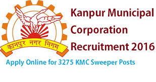 Kanpur Municipal Corporation (KMC) invites application for the post of 3275 Safai Karmchari on contract basis.