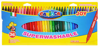 Набор суперсмываемых <b>фломастеров CARIOCA JOY</b> 36 штук (30 ...