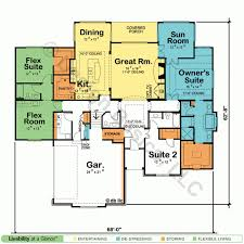 House Plans With Two Master Suites Design Basics Master Bedroom    Medium Image