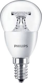 <b>Лампа Philips CorePro lustre</b> ND 5.5-40 W E 14 840 P 45 CL купить ...