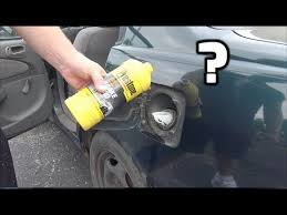What happens if you put <b>BRAKE FLUID</b> in your <b>gas</b> tank? (You'll be ...