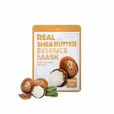 Питательная <b>тканевая маска с</b> маслом ши, FarmStay Real Shea ...