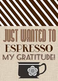 detail oriented diva espresso my gratitude gift sunday 21 2012