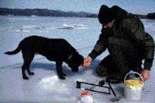 <b>Ice Fishing</b> - NYS Dept. of Environmental Conservation