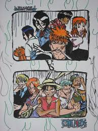 <b>Onepiece VS Bleach</b> by Animal-and-anime-lvr on DeviantArt