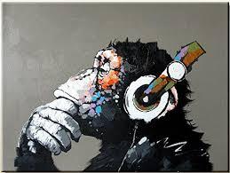 High-end <b>Hand</b>-<b>painted Oil</b> Painting <b>100</b>% Hand-paiting-monk ...