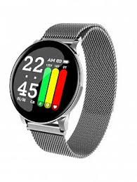 Купить <b>Умные часы Smarterra SmartLife</b> UNO серебро по ...