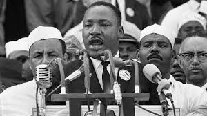 The left hijacks 'I have a dream' and turns it into 'I have a scheme'