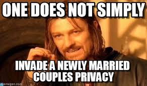 Invade A Newly Married Couples on Memegen via Relatably.com