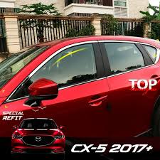 <b>Хром пакет</b> на <b>окна</b> Epic на Mazda CX-5 2 поколение