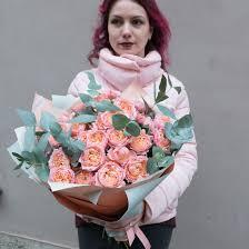 Купить <b>букет пионовидных роз</b> в СПБ недорого с бесплатной ...