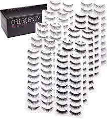 Celeb Beauty Eyelash Splashes 100 Pair Faux ... - Amazon.com