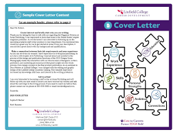 career resources linfield college cover letter