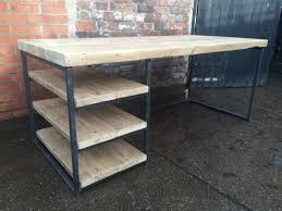 metal and wood desk – cocinacentralco