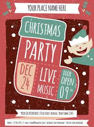 christmas party flyer templates psd designs premium christmas party design template