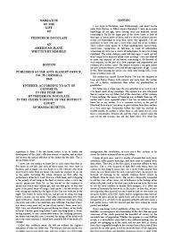 frederick douglass narrative abolition essay narrative of the life of frederick douglass docfoc com