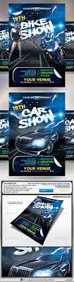 bike and car show flyer logos flyer template and cars buy bike and car show flyer by romacmedia on graphicriver bike and car show event flyer template the canvas is set up at inches inch bleed area
