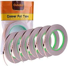 6 Pack Copper Foil Tape,Double-Sided Conductive ... - Amazon.com