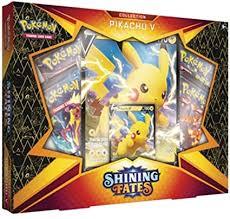 Amazon.com: <b>Pokemon</b> TCG: Shining Fates Collection <b>Pikachu</b> V Box