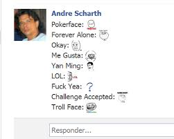 Como Colocar emoticons de MEMES no chat do Facebook | Estimulanet.com via Relatably.com