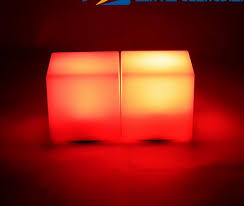 romantic lighting led seven colors changing mood cubes night glow lamp light gadget gizmo home decoration cheap mood lighting