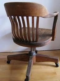 oak desk chair art deco swivel tilting rolling office chair art deco office chair