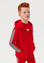<b>Толстовка детская</b> с капюшоном на молнии TOTAL ZUJ219-065 ...