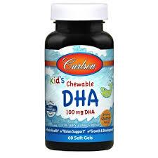 <b>Kid's Chewable DHA</b> | 100 mg <b>DHA</b> | Brain & Vision Health