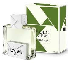 Beauty, health & perfumes :: <b>Solo Loewe Origami</b> Loewe 100ml ...