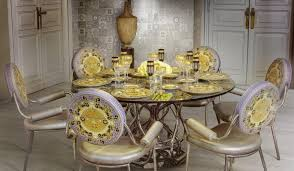 Купить <b>керамическую</b> плитку <b>Versace Home</b> Gold decori acqua ...