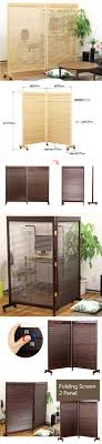 white kitchen windowed partition wall: japanese movable wood partition wall  panel folding screen room divider home decor oriental decorative