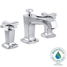 widespread bathroom faucet cross handles