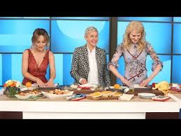 Ellen and Nicole Kidman Try to Learn Cooking Skills from Giada De ...