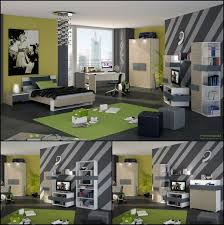 boys bedroom with cozy interior and sports related decorations view boy bedroom ideas rooms
