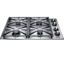 Gas Stainless Steel Cooktop Shop Dacor Renaissance 4 Burner Gas Cooktop Stainless Steel