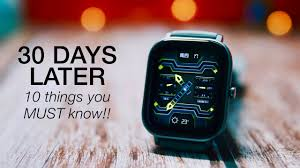 <b>Amazfit GTS</b>: 30 Days Review & 10 Things You MUST Know ...