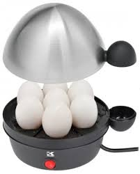 Kalorik Stainless Steel Egg Cooker, Black/Stainless ... - Amazon.com