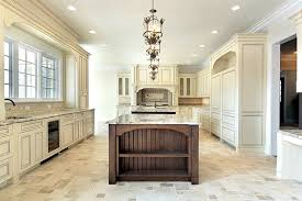 beautiful white kitchen cabinets: large cream color luxury kitchen design