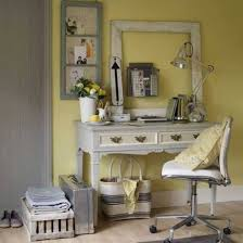 vintage home office desk home office country style with yellown walls andtage framed decor grey desk bathroompleasing home office desk ideas small furniture