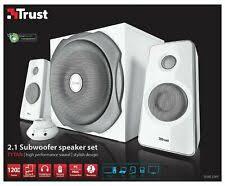 <b>Trust 2.1</b> System Computer Speakers for sale | eBay