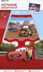 """<b>Ночник декоративный</b> """"<b>ФОТОН</b>"""" , Disney/Pixar, Тачки — купить в ..."""
