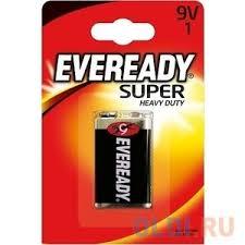 <b>ENERGIZER Батарейка</b> солевая Eveready <b>Super 6F22</b> тип 9V 1шт ...